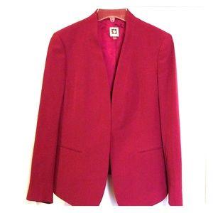Berry colored blazer